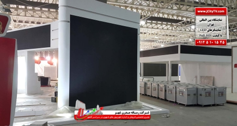 دکور سازی غرفه یا استودیو خبری با video wall