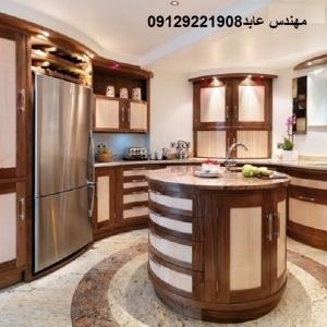 طراحي و ساخت انواع كابينت اشپز خانه