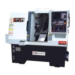 ماشین تراش ریل مورب جستومی  JSTOMI, CNC SLANT BED LATHE CF36,