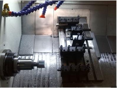 ماشین تراش cnc ریل مورب جستومی ، CFG36 دو محوره
