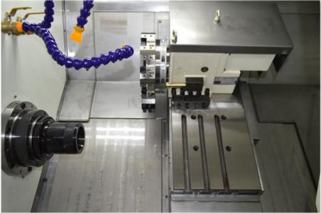 ماشین تراش cnc ریل مورب جستومی ، CFG46D به همراه تارت