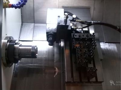 ماشین تراش cnc ریل مورب جستومی ، CFG46X چهار محوره