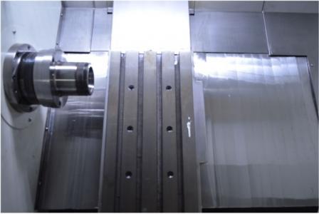 ماشین تراش cnc ریل مورب جستومی ، CZG46 دو محوره