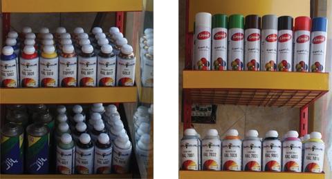فروشگاه رنگ پودری آرکا فام