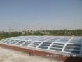 Building skylight _ نورگیر سقف مجتمع تجاری و مسکونی