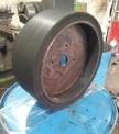 روکش چرخ توپر با لاستیک
