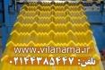ورق طرح سفال جهت پوشش سقف ویلا، سردرب ویلا و آلاچیق