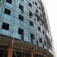 اجرای نمای شيشه ای ساختمان